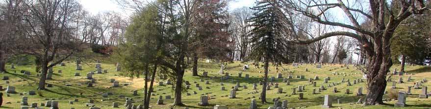 A View Across the Cemetery